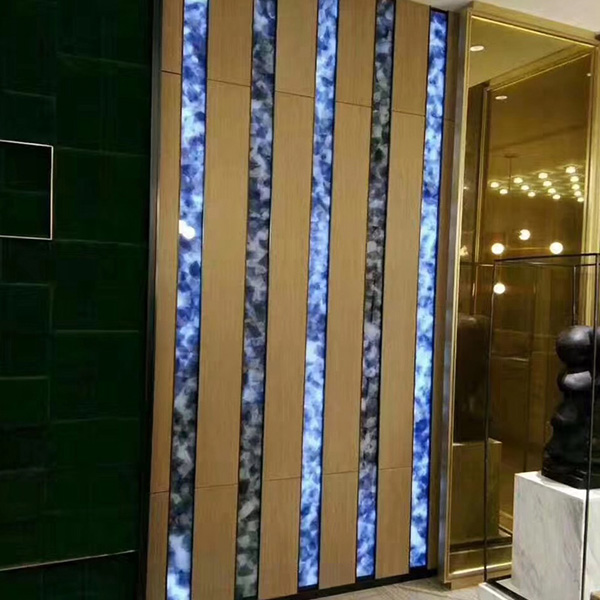 Luck Hotel, airport, subway station, hospital, bank, villa, etc. indoor and outdoor decoration marble Jade glass