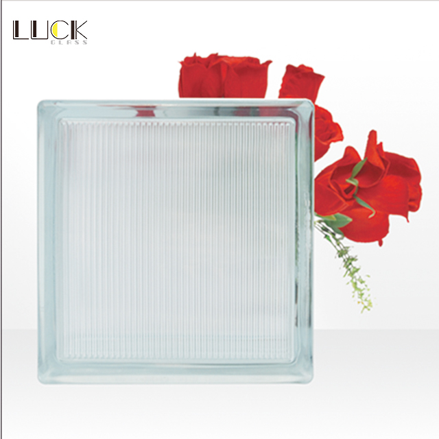 Commerical Acid Etched Resistant Solid Glass Block