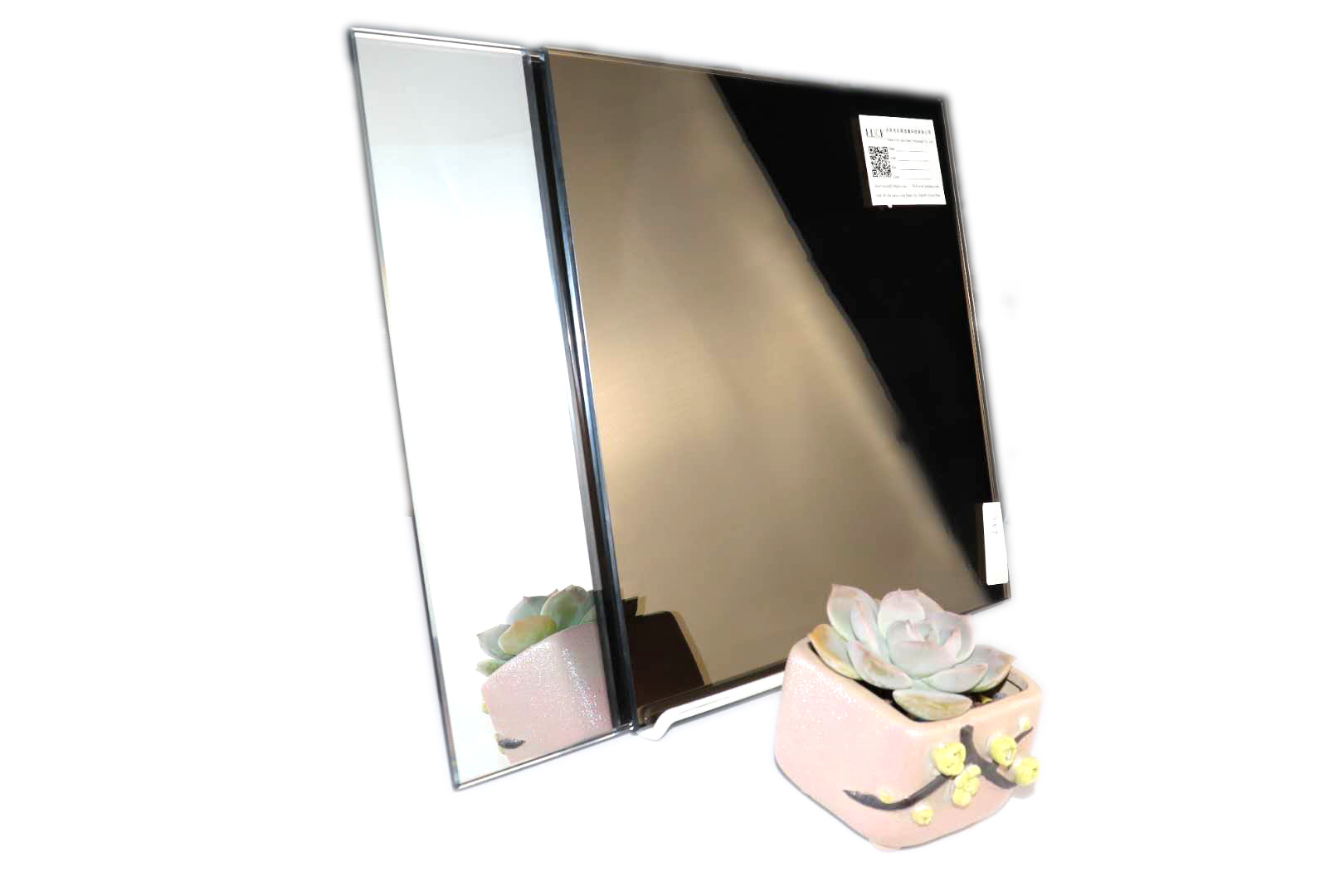 Customizable brown 4mm 5mm tempered mirror wholesale