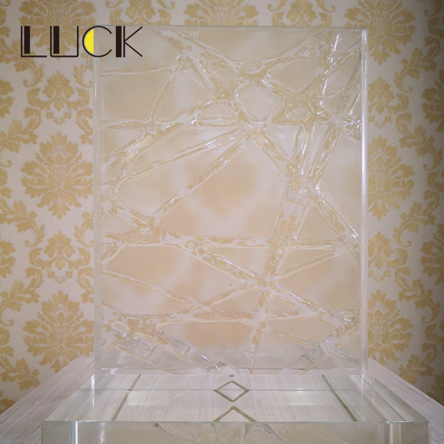 Custom design decorative glass