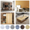 Customizable family bathroom hotel safety glass shower door